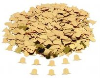 Gold Bells Table Confetti (14g)
